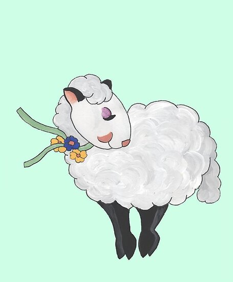Ewe&#x27;s not Fat, Ewe&#x27;s Fluffy! by redqueenself