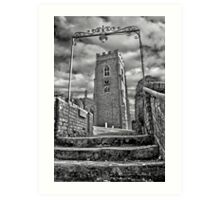 St.Mary Church,Kersey Art Print