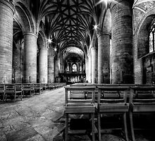 Tewkesbury Abbey by David Robinson