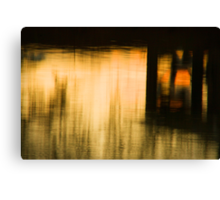 Painted Evening Canvas Print