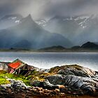 Abandoned Fisherman&#x27;s Hut. Lofoten Islands. Norway. by photosecosse /barbara jones