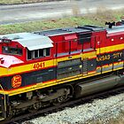 KCS 4041 - Kansas City Southern Locomotive by Betty Northcutt