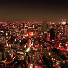 Osaka by Night - Japan by Nasko .