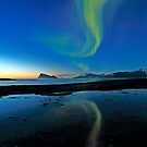 Aurora Borealis over Haja island by Frank Olsen