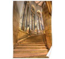 Grand Staircase - Suzzallo Library Poster