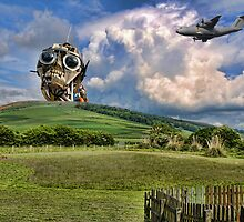 Whats that coming over the Hill...... by Alex Hardie