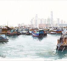 Causeway Bay, SAR Hong Kong by Dai Wynn