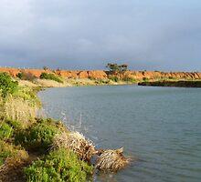 K Road Cliffs, Werribee River, Victoria by DashTravels