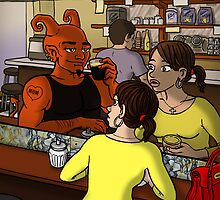 I Met the Devil at Pellegrini's by Angelo Madrid