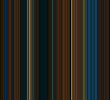 Moviebarcode: Pan's Labyrinth (2006) [Simplified Colors] by moviebarcode