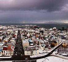 Reykjavik, Iceland - Panorama by Matthew Kocin
