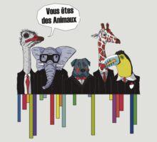 Vous êtes des animaux by Beub