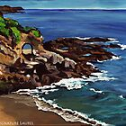 Keyhole Arch En Plein Air by signaturelaurel