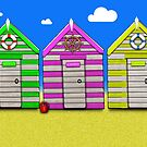 Beach Huts by shall