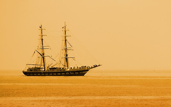 Tall Ship by Samantha Higgs
