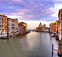 grand canal sunset by guitarzjr28