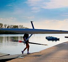 Headless female rower by JFNfoto