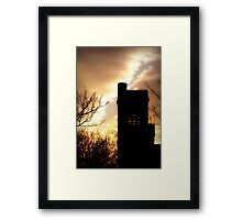Evening is calling ©  Framed Print