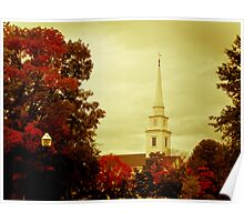 Autumn in New England Poster