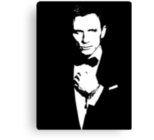 Bond, James Bond #3 Canvas Print