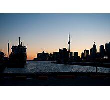 Toronto Downtown and Port Photographic Print