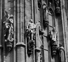 Duomo Statues, Milan, Italy 2011 by Igor Pozdnyakov
