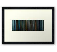 Moviebarcode: Blade Runner (1982) Framed Print