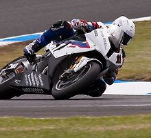 Troy Corser Phillip Island 2011 by Anthony Edwards