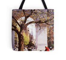 Spring In Washington Square, New York, NY Tote Bag