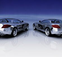 Mercedes 3D Render by Nasko .