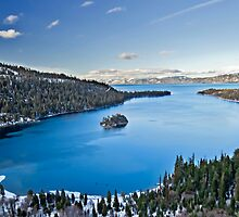 Emerald Bay Tahoe by Raul Cevallos