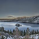 Panorama Emerald Bay Lake Tahoe by Raul Cevallos