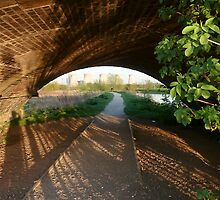 Lights & Shadows in the Tunnel by Elaine123
