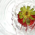Strawberry Splash 2 by Hazel Dean