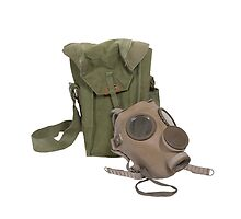 Gas Mask and Carrier Bag by Penywise