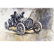 Isotta Fraschini 50HP 1908 Targa Floria  Photographic Print