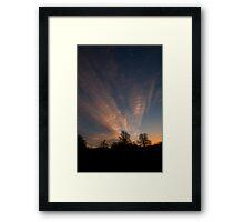Thursday Morning, 6am - As Is Framed Print