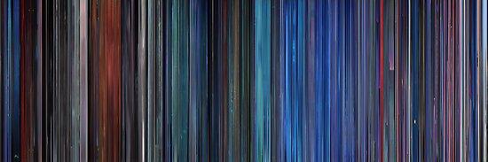 Moviebarcode: TRON (1982) by moviebarcode