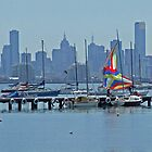 Melbourne fromWilli by TeaCee