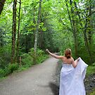 Bride Hitchhiking on Covered Path by Penywise