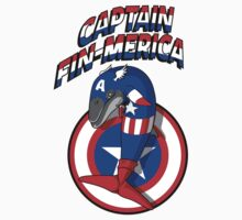 Captain Fin-merica Kids Clothes