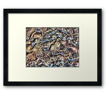 Ice n Rock (4) Framed Print