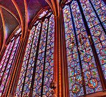 La Sainte-Chapelle by Nigel Fletcher-Jones