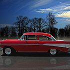 1957 Chevrolet 2 Door sedan Bel Air by TeeMack