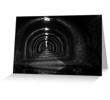 Tunnel-wather Greeting Card