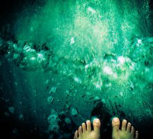 Toes in the water - Grenada, West Indies by xtalline