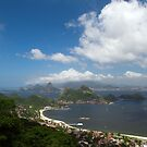 Sugar Loaf and Charitas Beach by arteparada