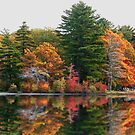 Burr Pond in Torrington Connecticut by Steve391
