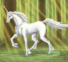 The last unicorn  by Kimberly mattia