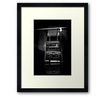 Only Ghosts Remain Framed Print